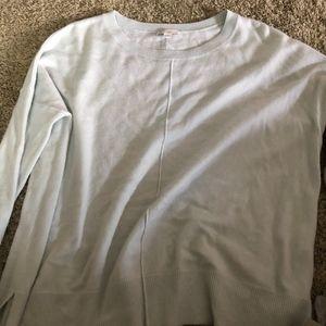 Light Teal Gap Sweater